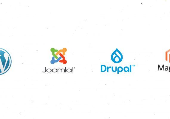 WordPress vs. Joomla vs. Drupal vs. Magento